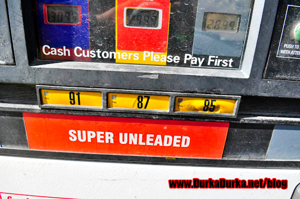 85 Unleaded.  WTF?
