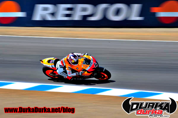 Andrea Dovizioso in turn 10.