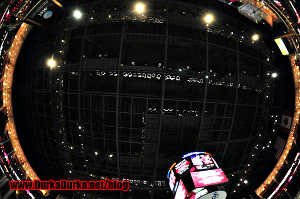 The roof inside Jobing.com Arena