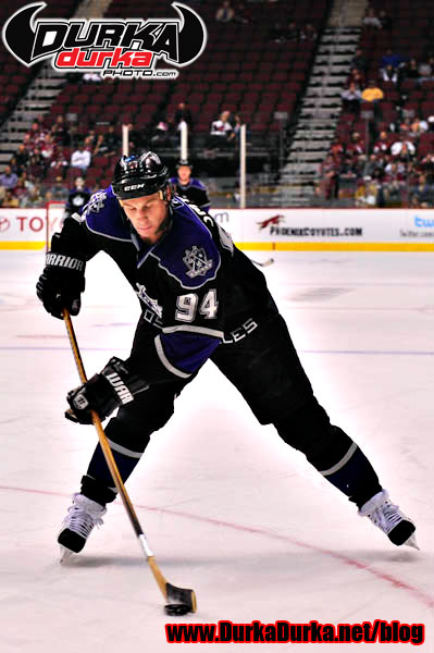 Kings left wing Ryan Smyth.