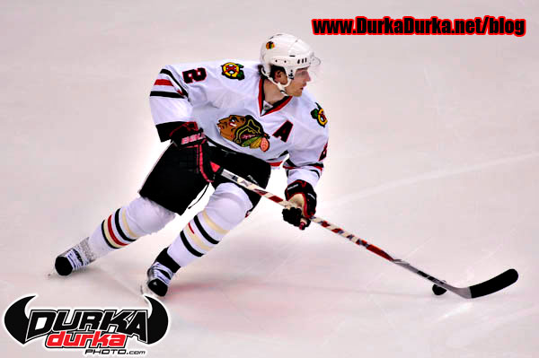 Blackhawks defenseman Duncan Keith.