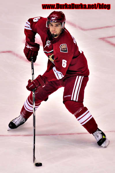 Coyotes defenseman David Schlemko.
