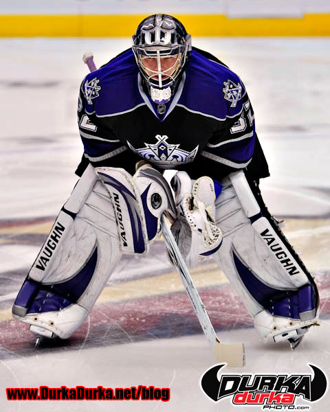 Kings Goaltender Jonathan Quick