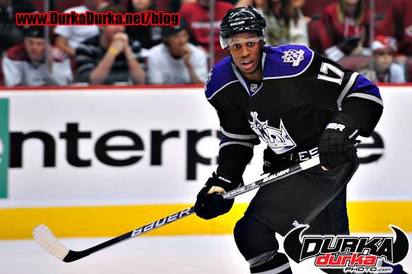 Kings right wing Wayne Simmonds.